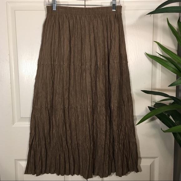 Alfred Dunner Dresses & Skirts - Alfred Dunner Crinkle Beaded Skirt, Size 12